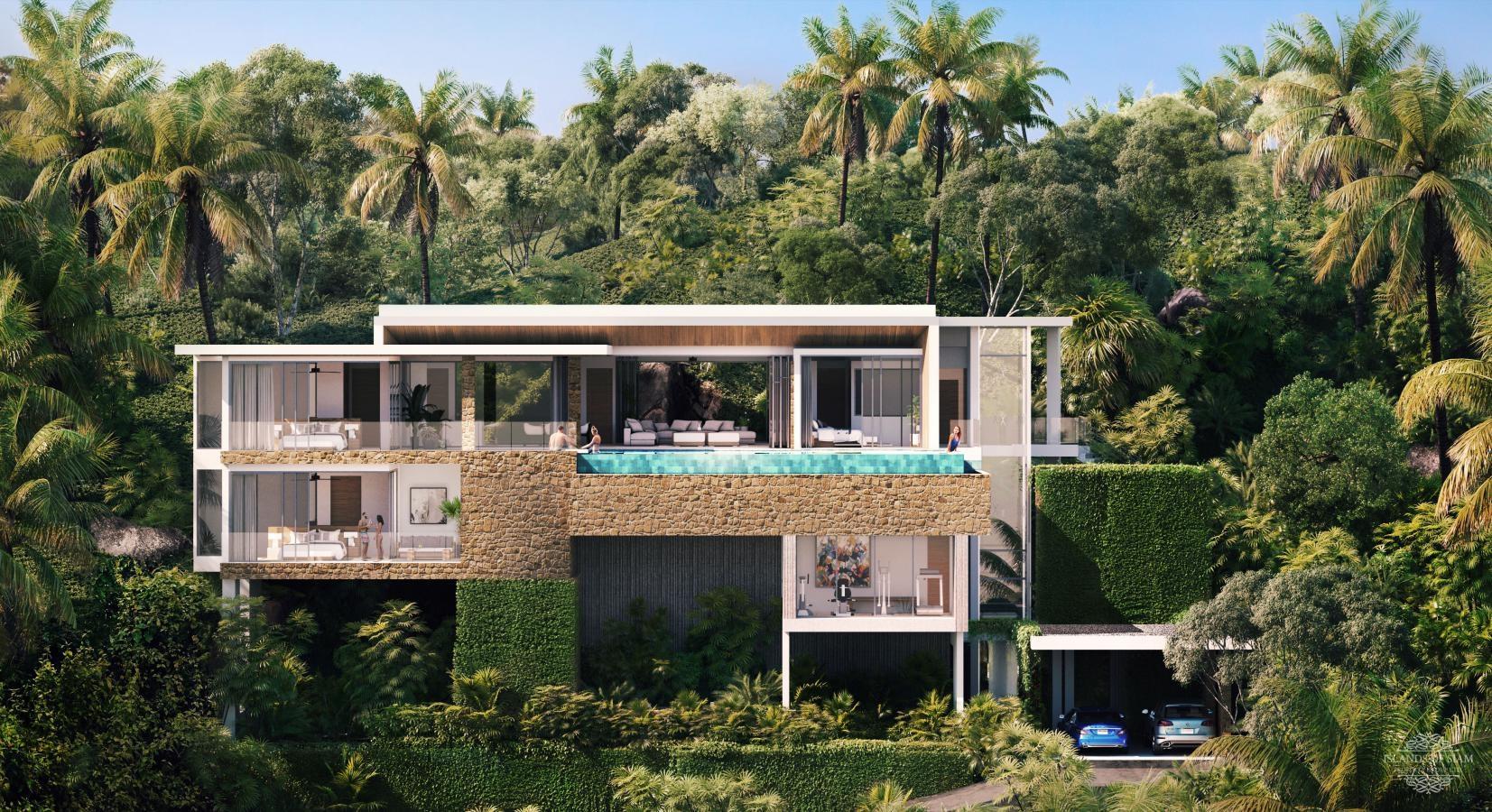 View - For Sale Sea View Land 420 Sqm In Lipa Noi - Koh Samui